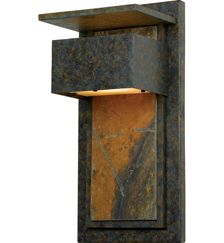 Quoizel - ZP8418MD - Zephyr Muted Bronze Outdoor Wall Sconce