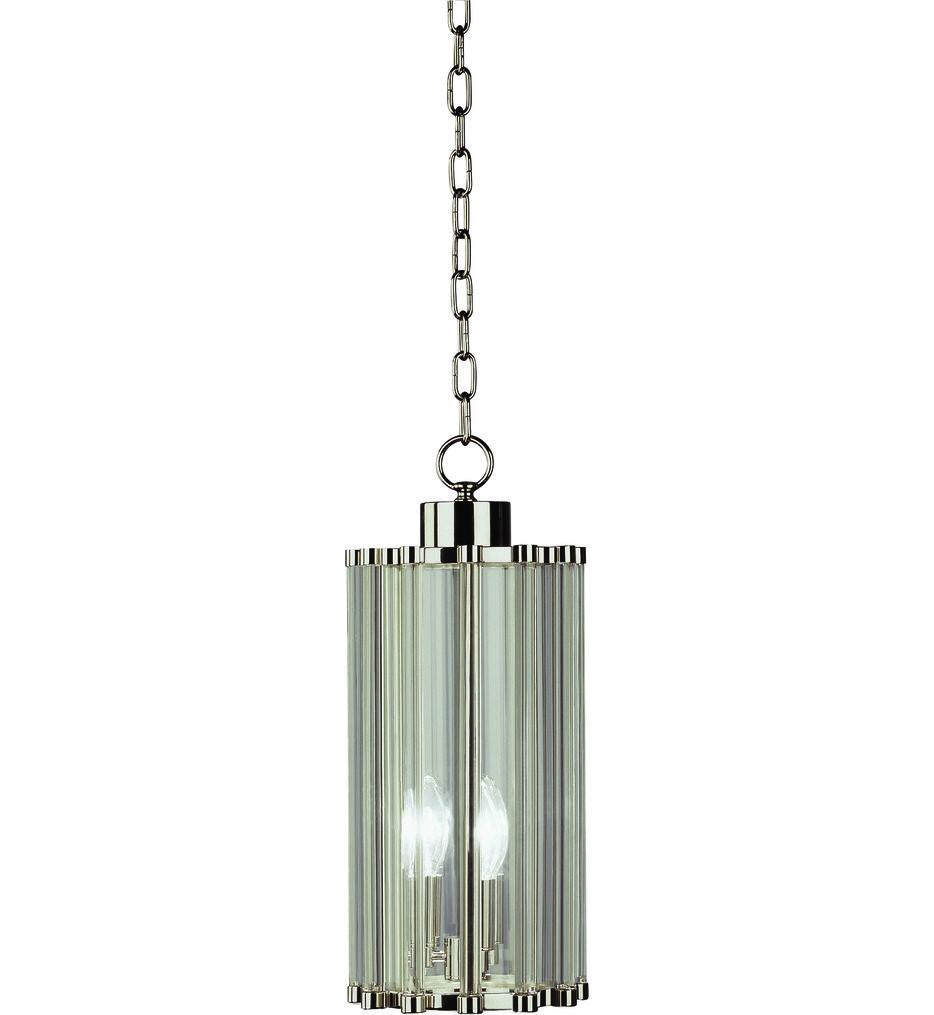 Robert Abbey - S3336 - Cole Polished Nickel 3 Light Pendant