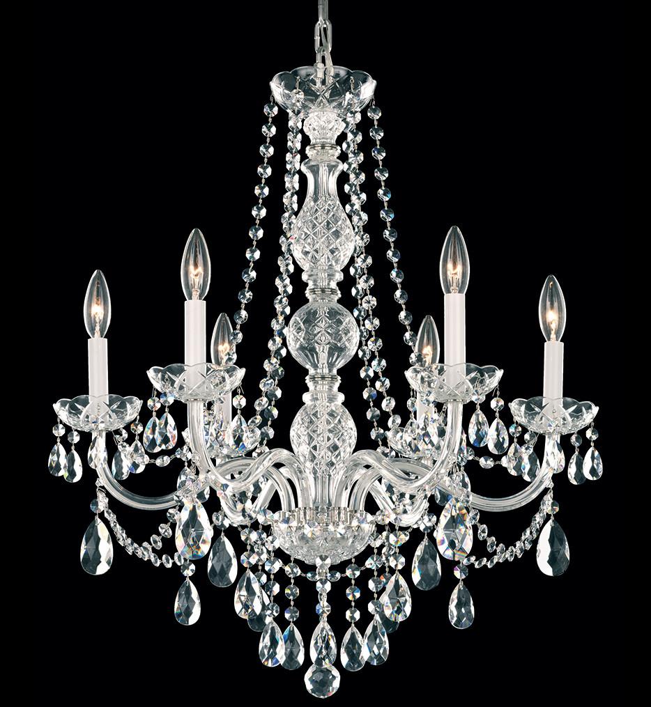 Schonbek - 1303-40H - Arlington 24 Inch Silver & Heritage Handcut Crystal Chandelier
