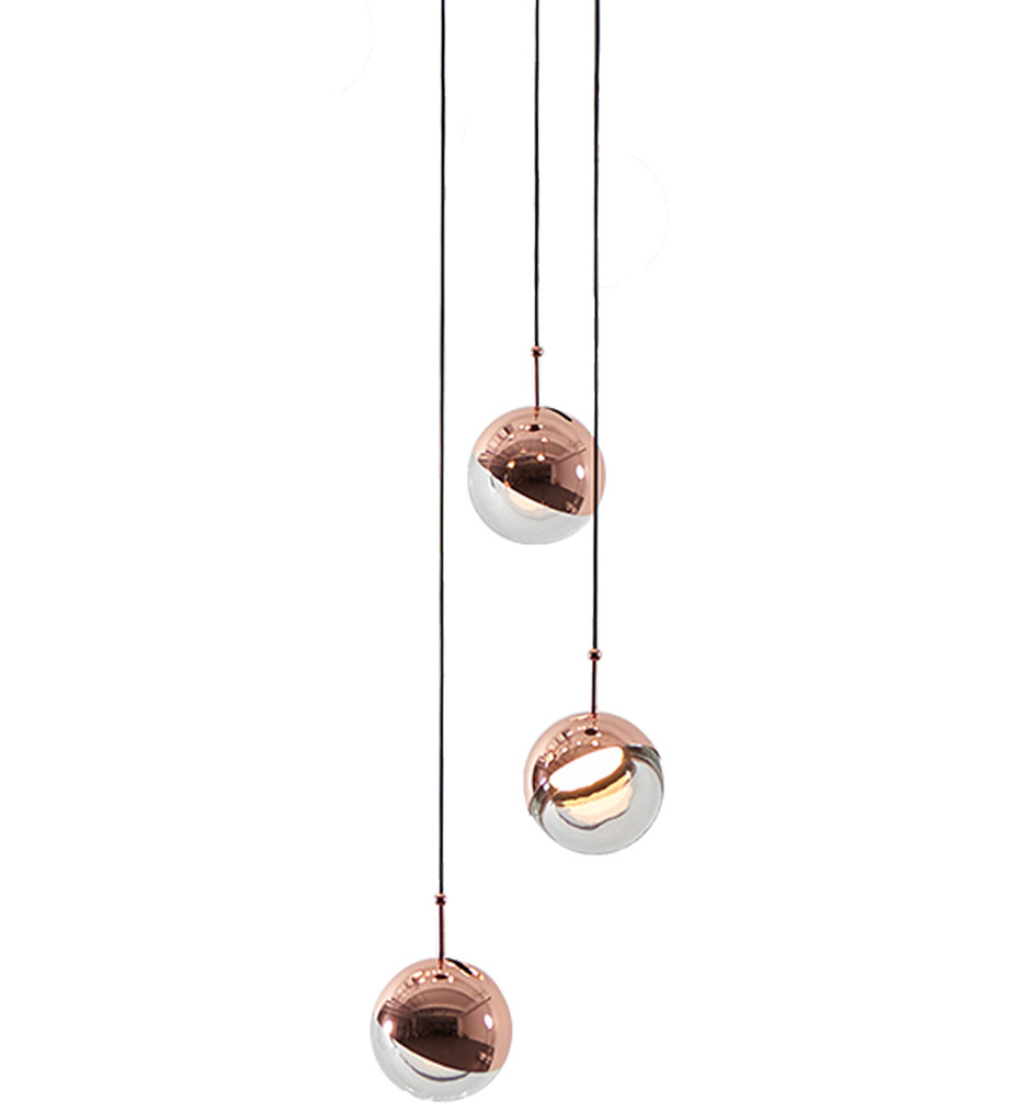 Seed Design - Dora 3 Light Pendant