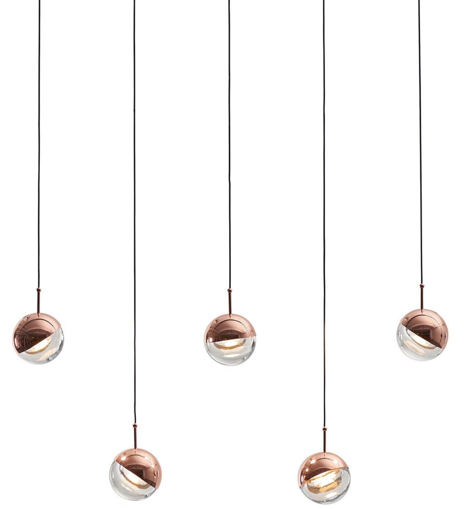 Seed Design - Dora 5 Light Pendant