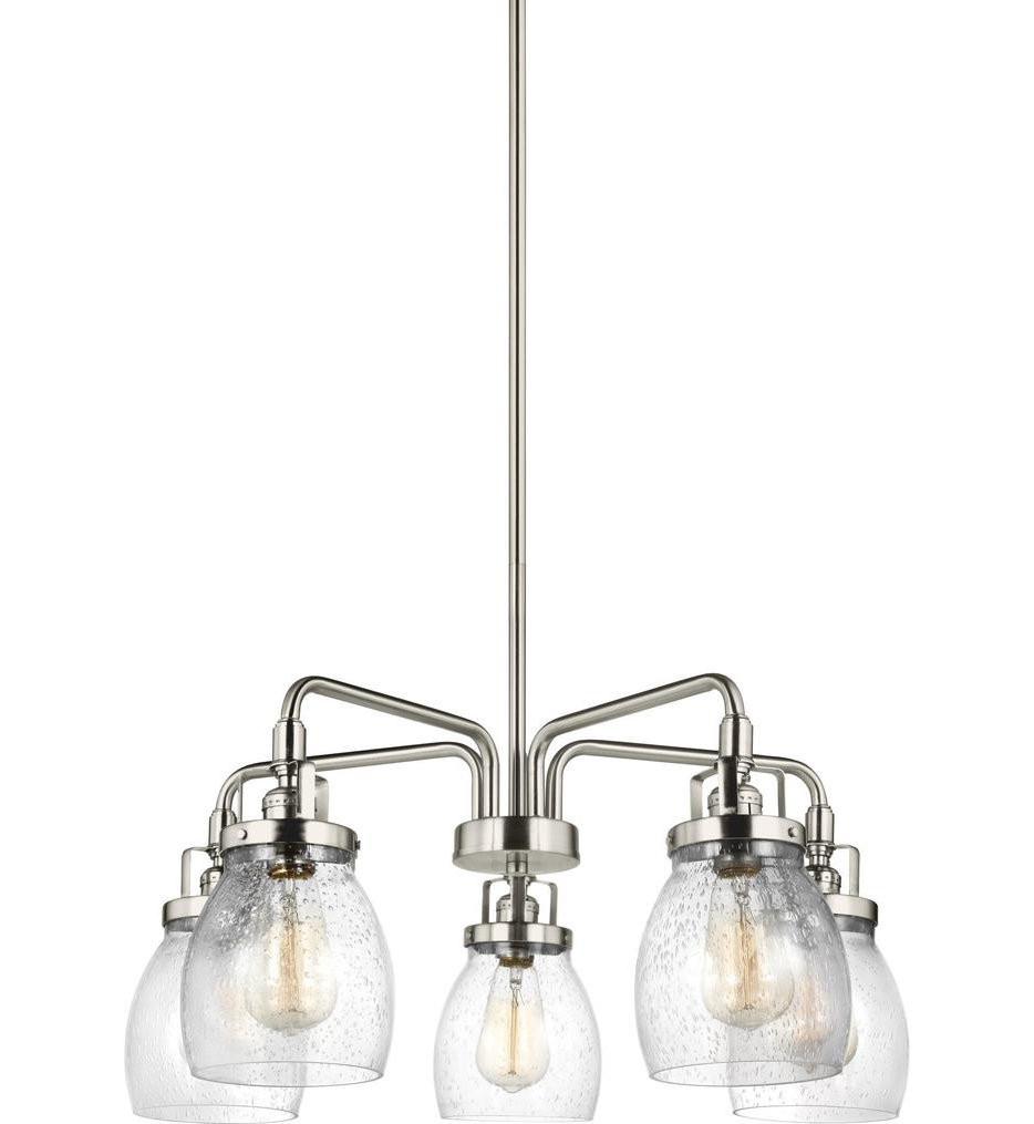 Sea Gull Lighting - 3114505-962 - Belton Brushed Nickel 5 Light Chandelier