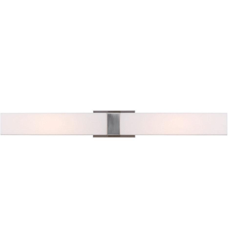 Sea Gull Lighting - 4522991S-962 - Vandeventer Brushed Nickel 4.25 Inch 1 Light Bath Vanity Light