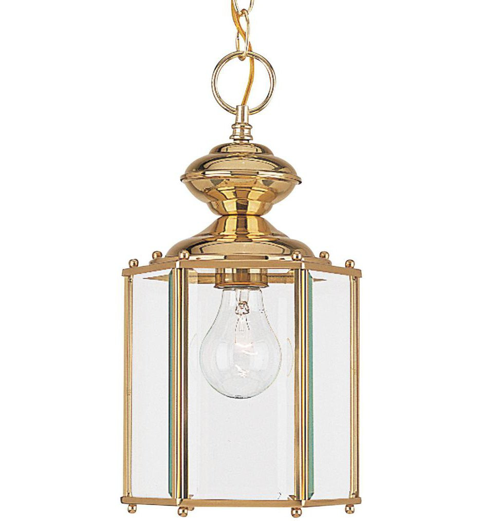 Sea Gull Lighting - Classico 1 Light Outdoor Semi-Flush/Outdoor Pendant