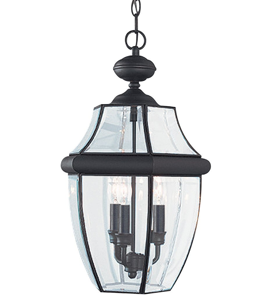 Sea Gull Lighting - Lancaster 3 Light Outdoor Pendant