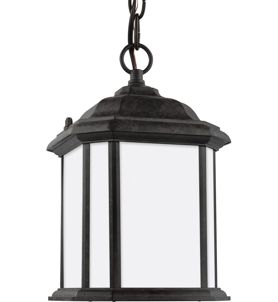 Sea Gull Lighting - 60529EN3-746 - Kent Oxford Bronze 1 Light LED Outdoor Semi-Flush/Outdoor Pendant