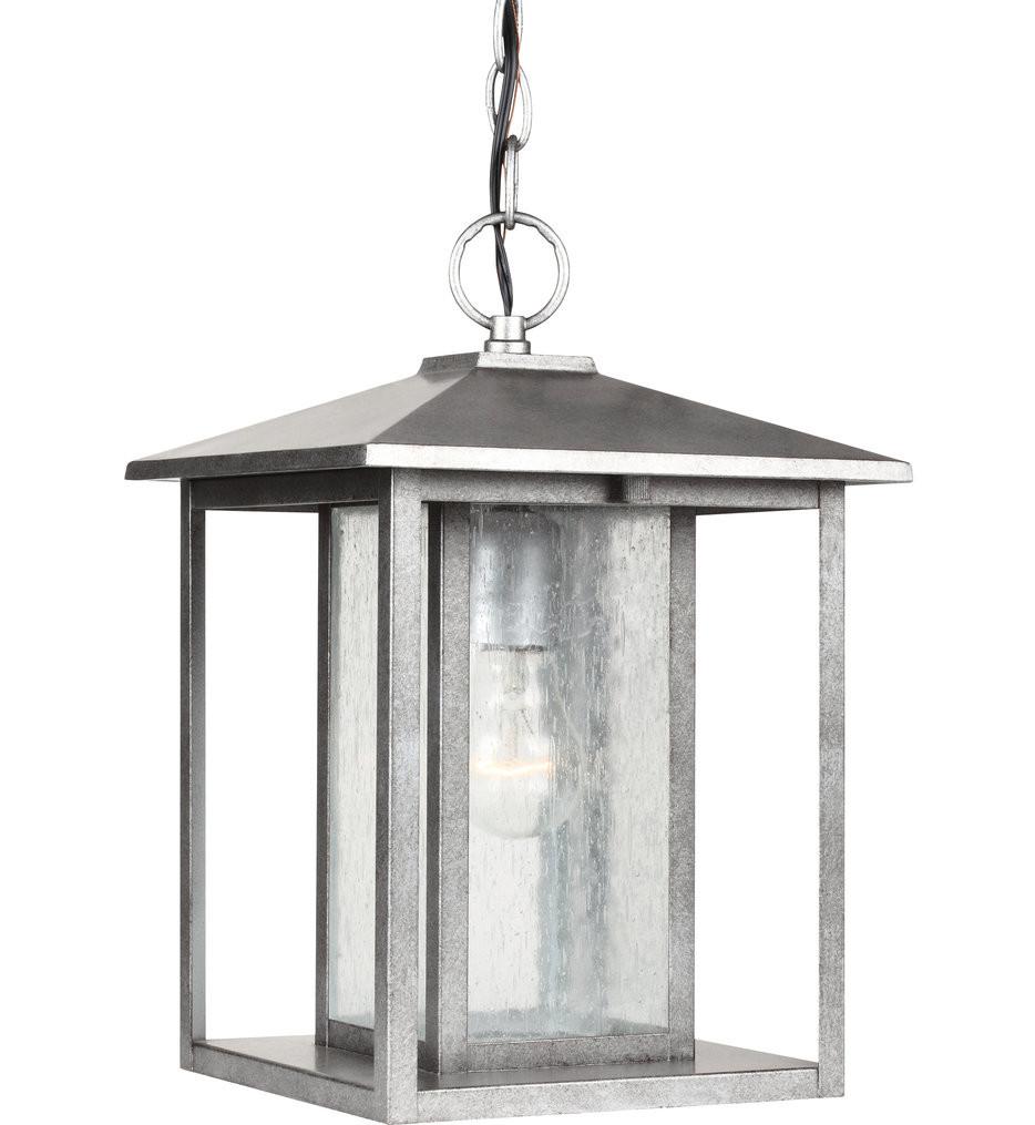 Sea Gull Lighting - Hunnington 9 Inch 1 Light Outdoor Pendant