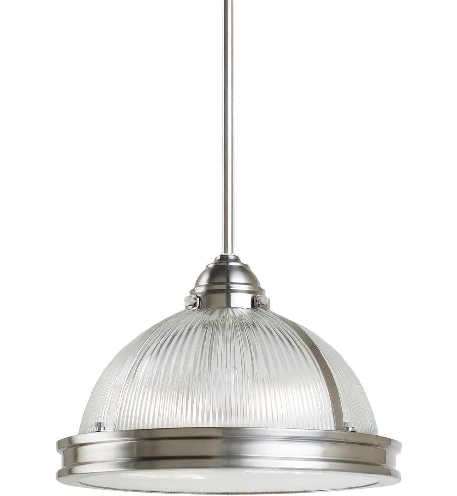 Sea Gull Lighting - Pratt Street Prismatic 2 Light Pendant