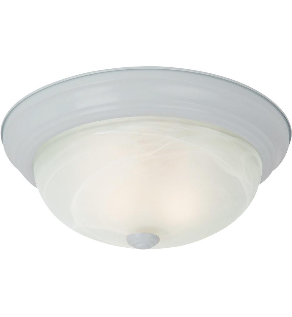 Sea Gull Lighting - Windgate 2 Light Flush Mount