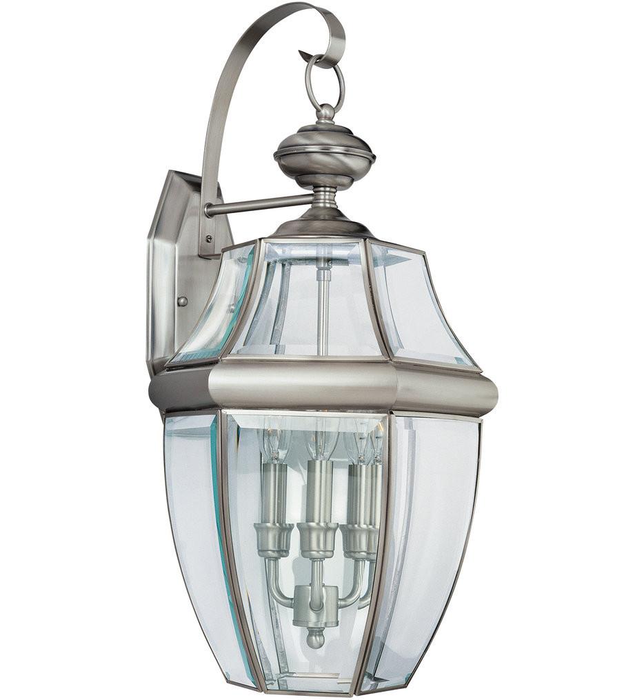 Sea Gull Lighting - Lancaster 3 Light Outdoor Wall Lantern