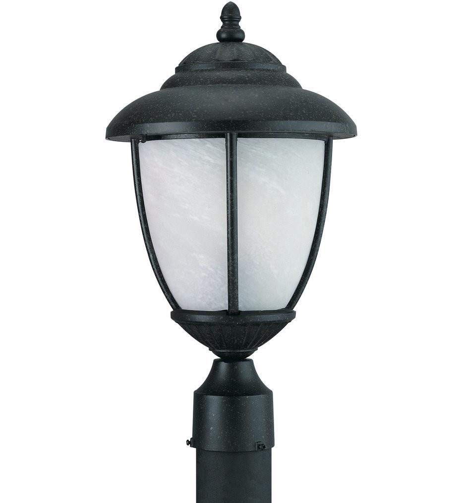 Sea Gull Lighting - Yorktown 1 Light Outdoor Post Lantern