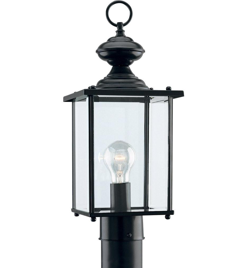 Sea Gull Lighting - Jamestowne 1 Light Outdoor Post Lantern