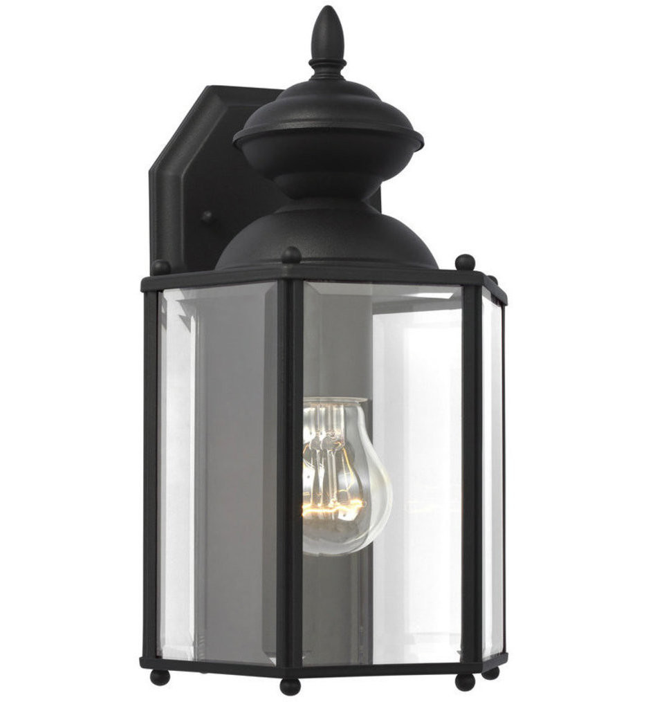 Sea Gull Lighting - Classico 12.25 Inch 1 Light Outdoor Wall Lantern