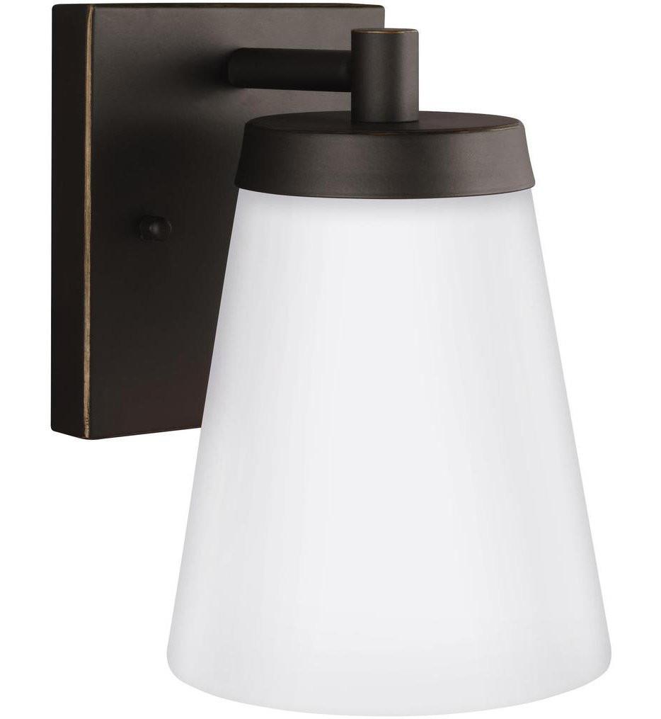 Sea Gull Lighting - 8538601EN3-71 - Renville Antique Bronze 7.38 Light 1 Light LED Outdoor Wall Lantern