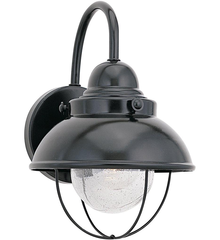 Sea Gull Lighting - Sebring 11.25 Inch 1 Light Outdoor Wall Lantern