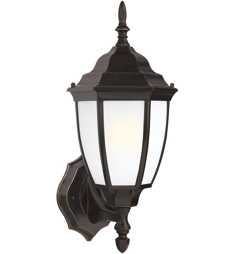 Sea Gull Lighting - 89940EN3-782 - Bakersville Heirloom Bronze 15.5 Inch 1 Light LED Outdoor Wall Lantern