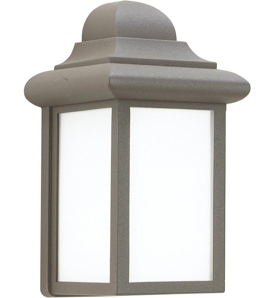 Sea Gull Lighting - 8788-10 - Mullberry Hill Bronze 8.75 Inch 1 Light Outdoor Wall Lantern