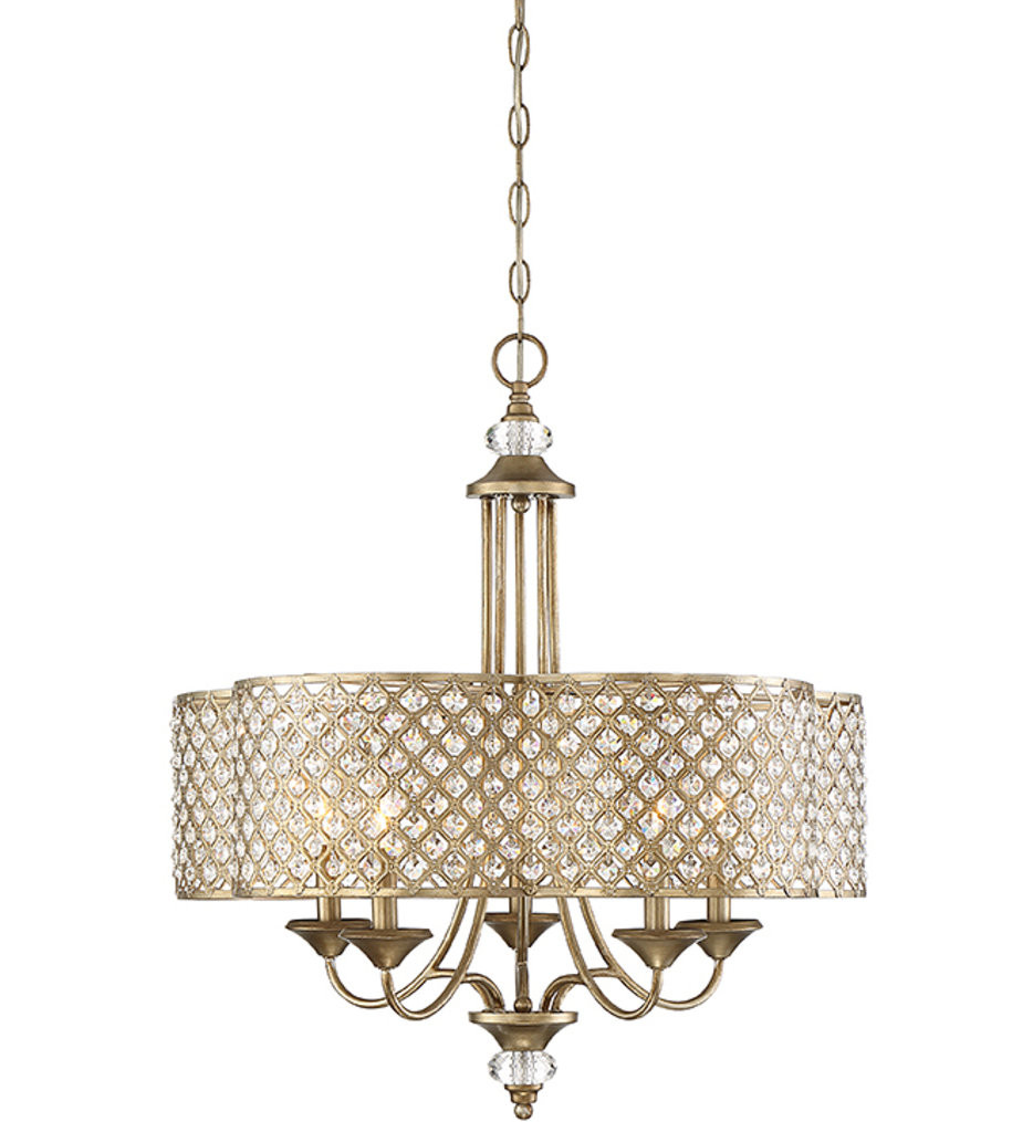 Savoy House - 1-2400-5-98 - Regis Pyrite 5 Light Chandelier