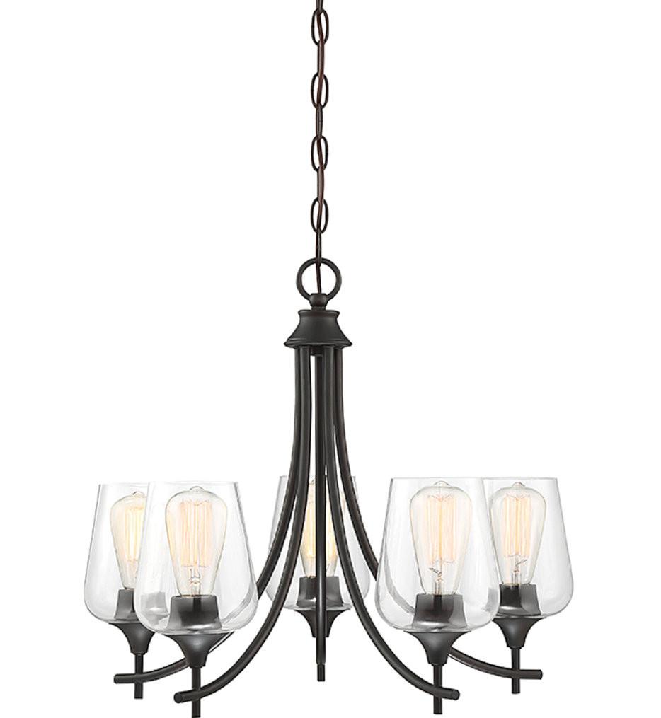 Savoy House - Octave 5 Light Chandelier