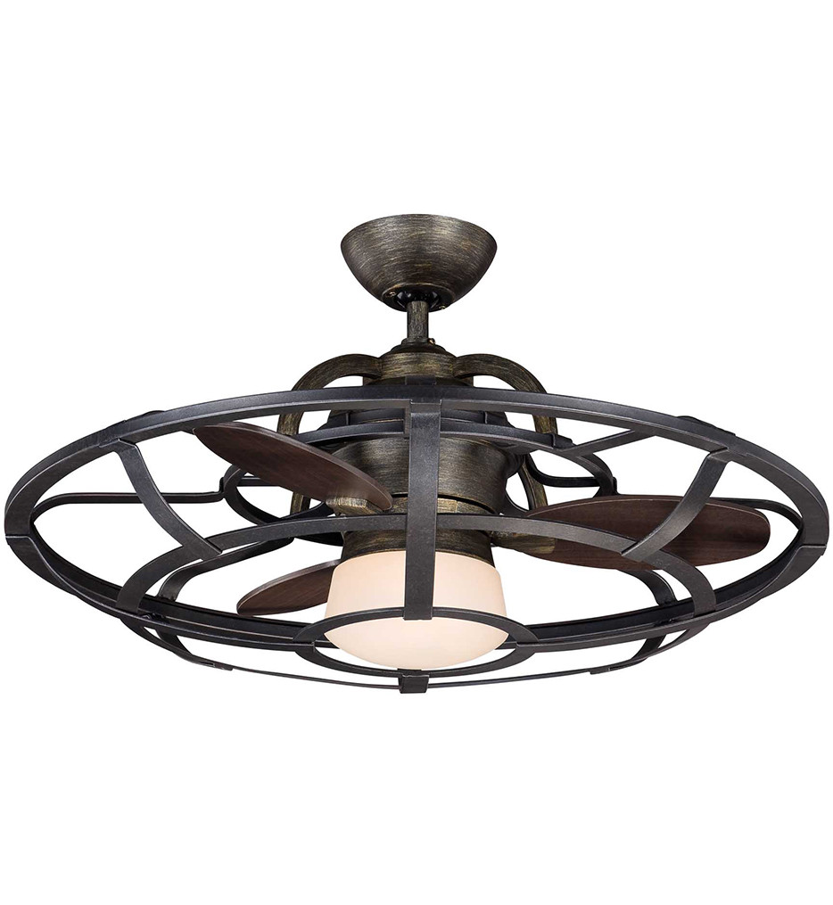 Savoy House - 26-9536-FD-196 - Alsace Reclaimed Wood 26 Inch Ceiling Fan With Chestnut Blades