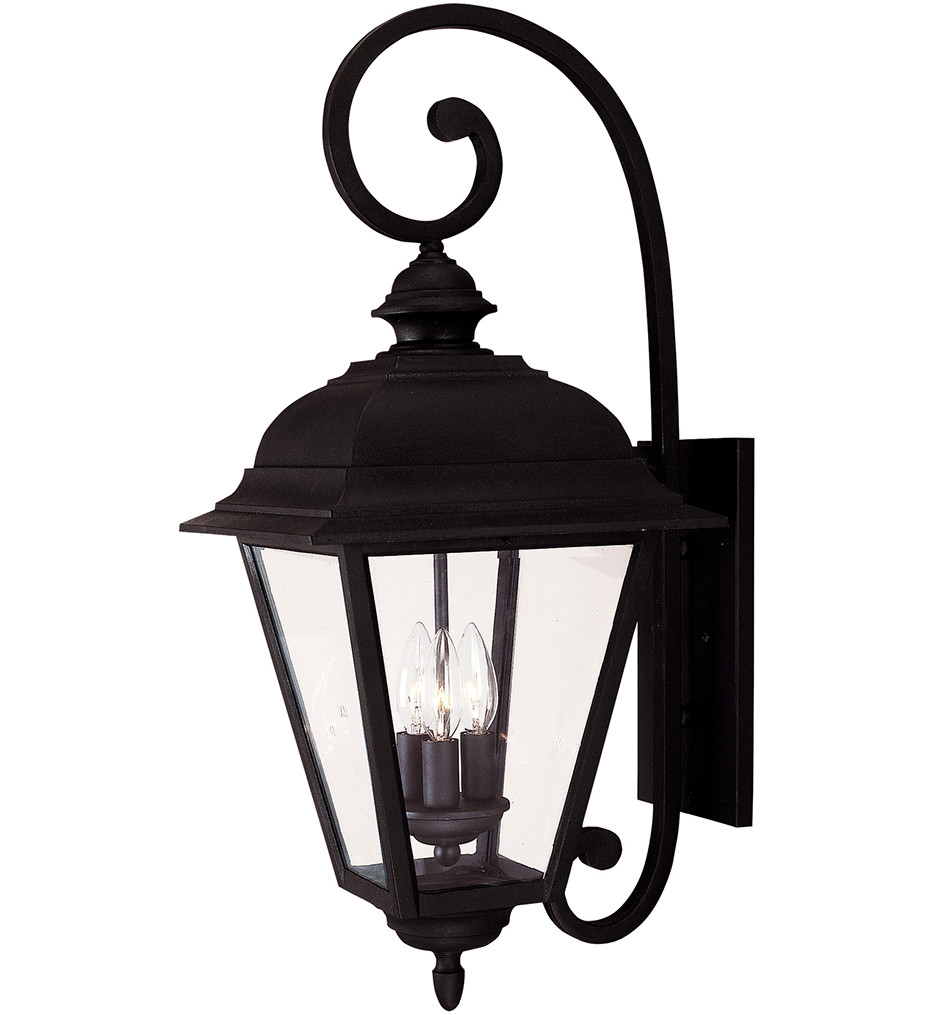 Savoy House - 5-1602-BK - Westover Textured Black 24.5 Inch Outdoor Sconce