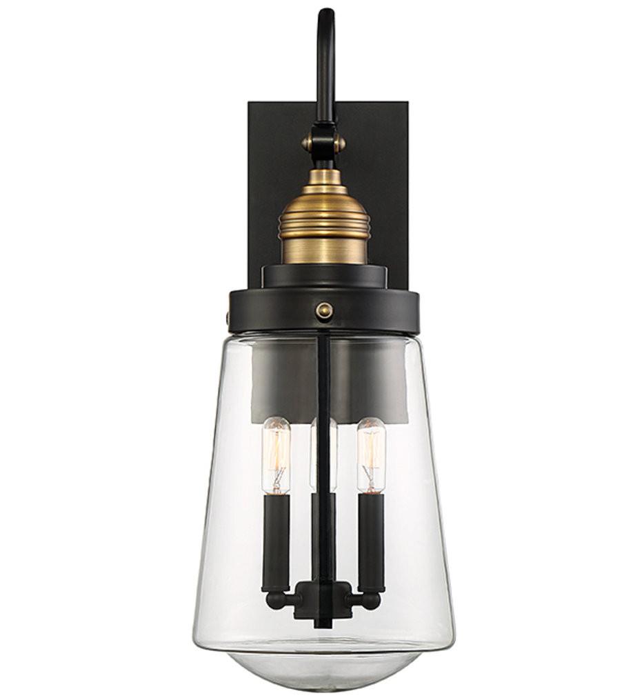 Savoy House - Macauley 23.5 Inch 3 Light Outdoor Wall Lantern