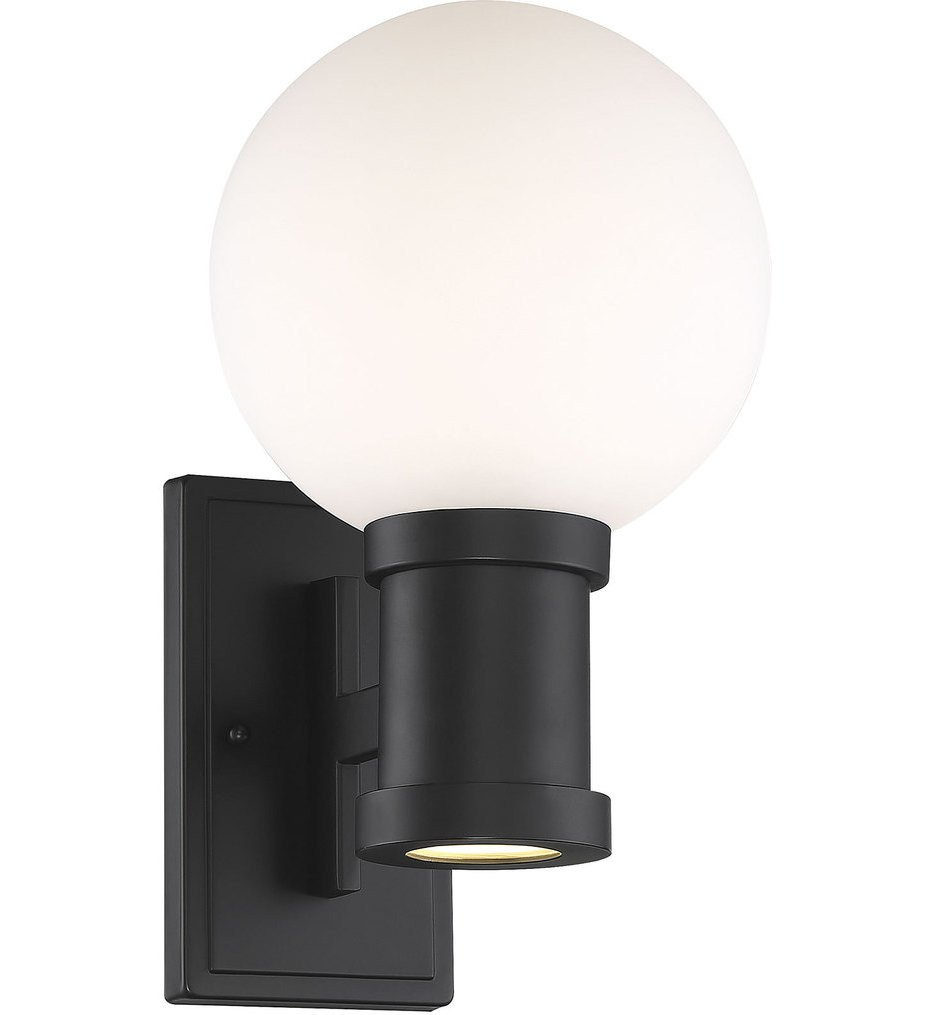 Savoy House - 5-22001-BK - Marion Black 14.5 Inch Outdoor Wall Sconce