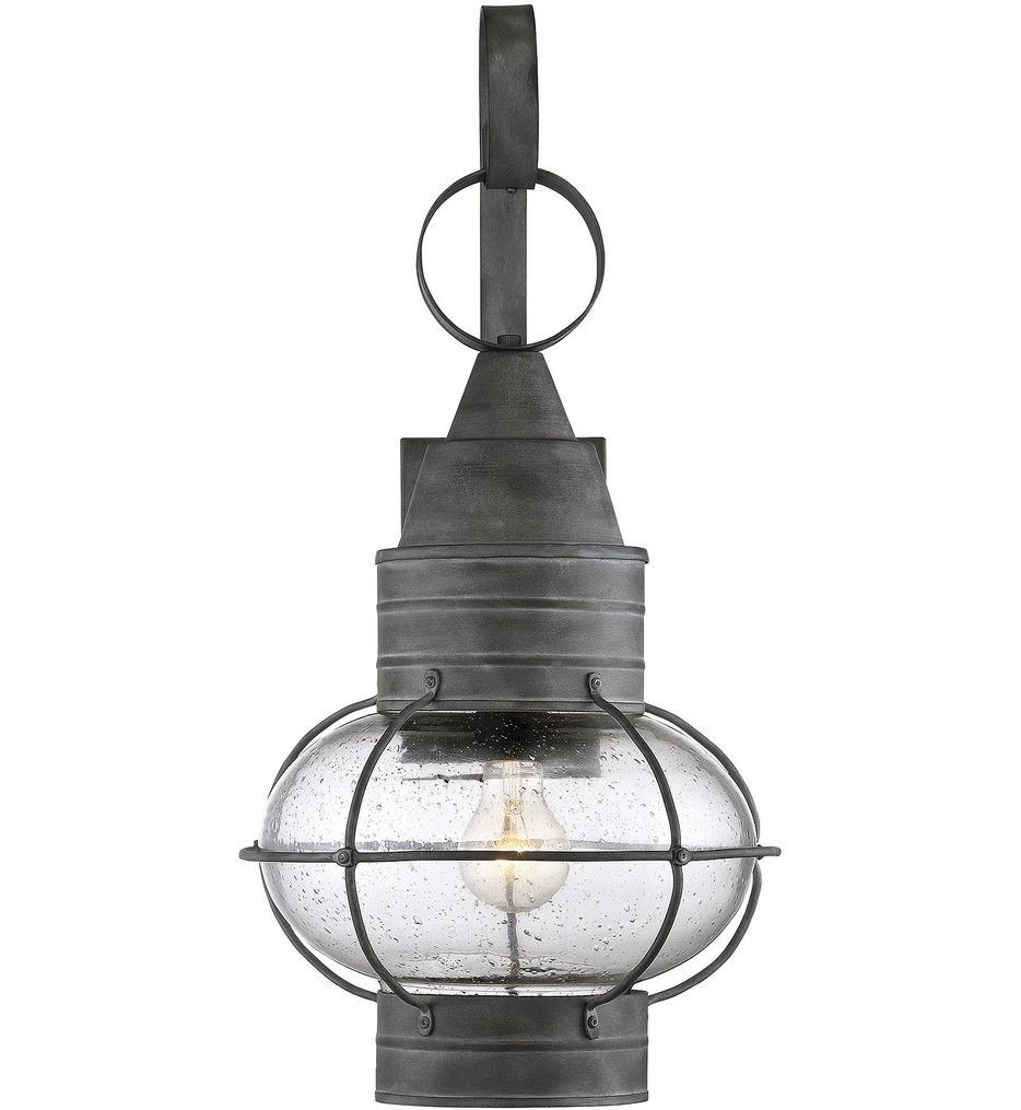 Savoy House - 5-222-88 - Enfield Oxidized Black 11.12 Inch Outdoor Wall Lantern