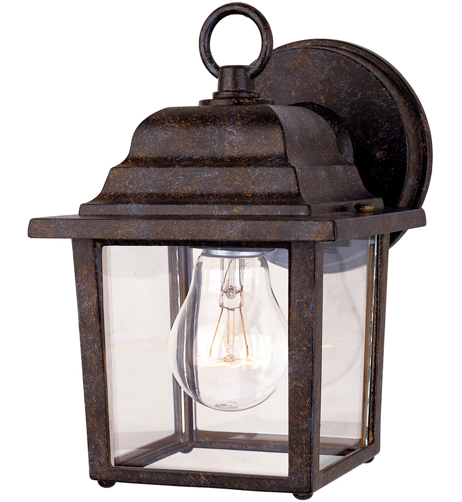 Savoy House - 5-3045-72 - Exterior Collections Rustic Bronze 9 Inch Outdoor Sconce