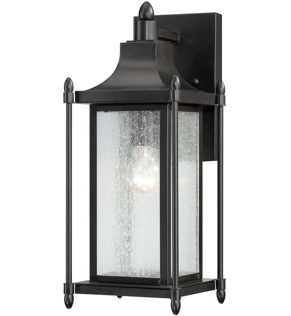 Savoy House - 5-3451-BK - Dunnmore Black 16 Inch Outdoor Sconce