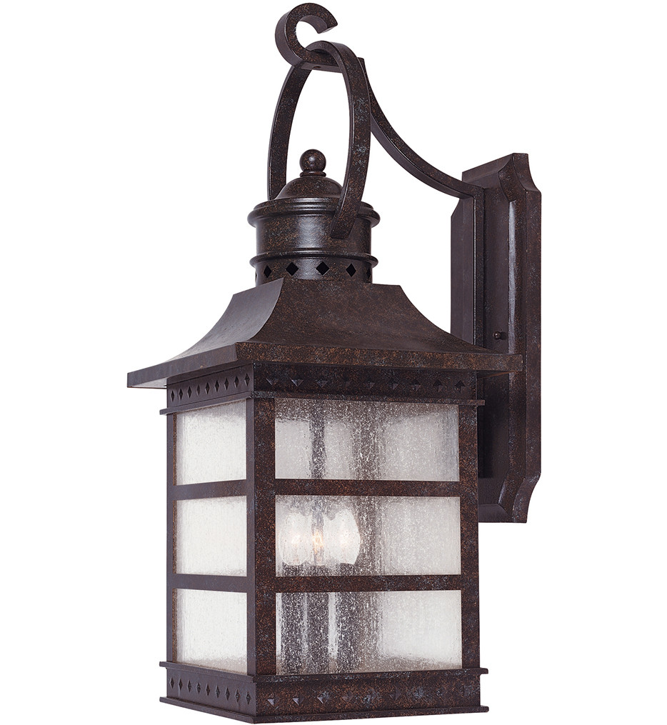 Savoy House - 5-441-72 - Seafarer Rustic Bronze 21.25 Inch Outdoor Sconce