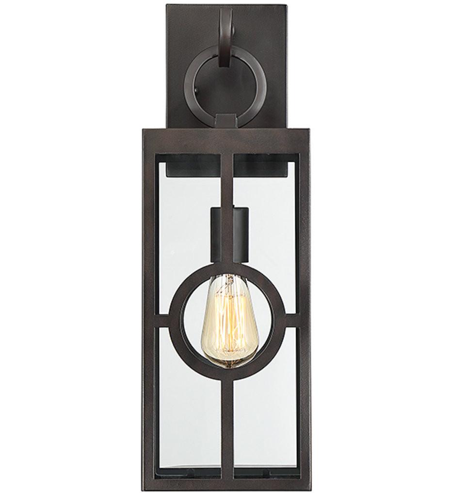 Savoy House - 5-501-13 - Lauren English Bronze 19.25 Inch Outdoor Wall Lantern