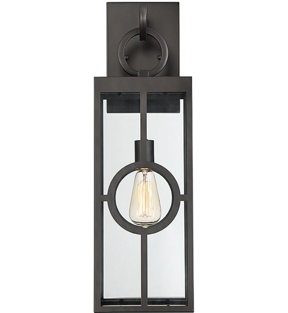 Savoy House - 5-502-13 - Lauren English Bronze 24.5 Inch Outdoor Wall Lantern