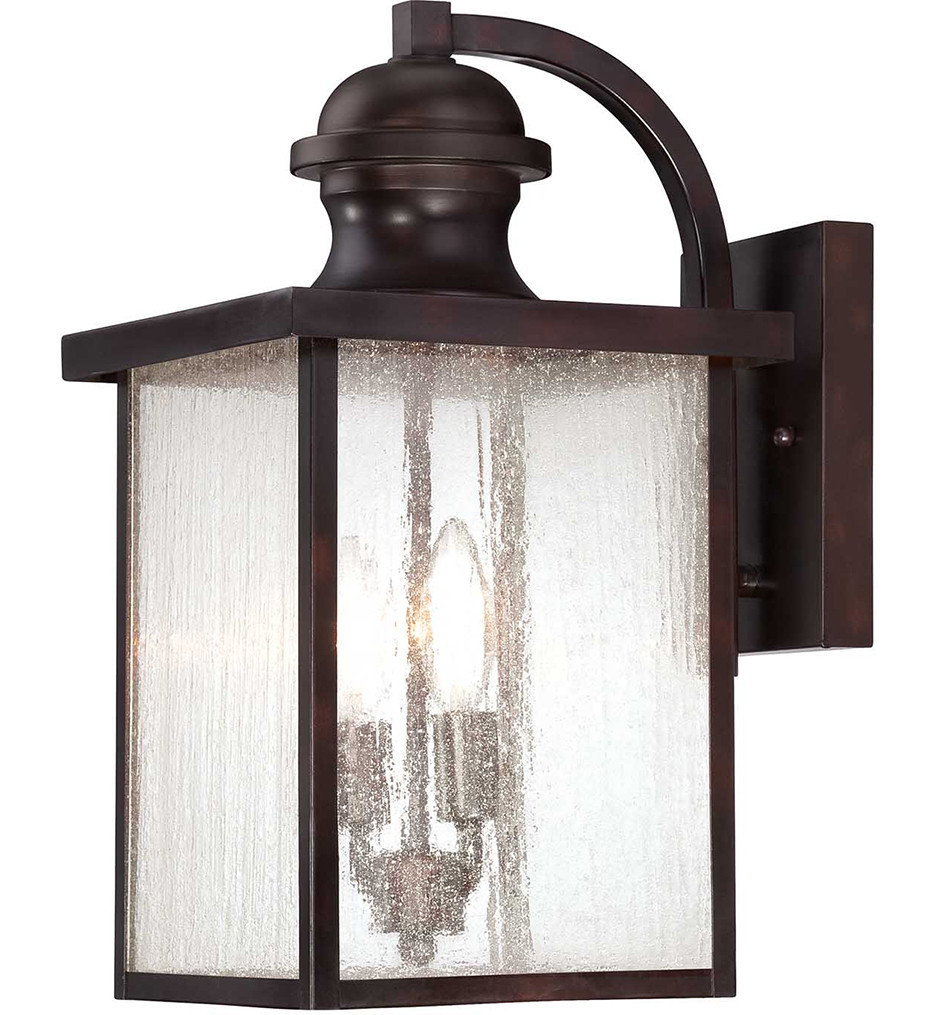 Savoy House - 5-602-13 - Newberry English Bronze 17 Inch Outdoor Sconce