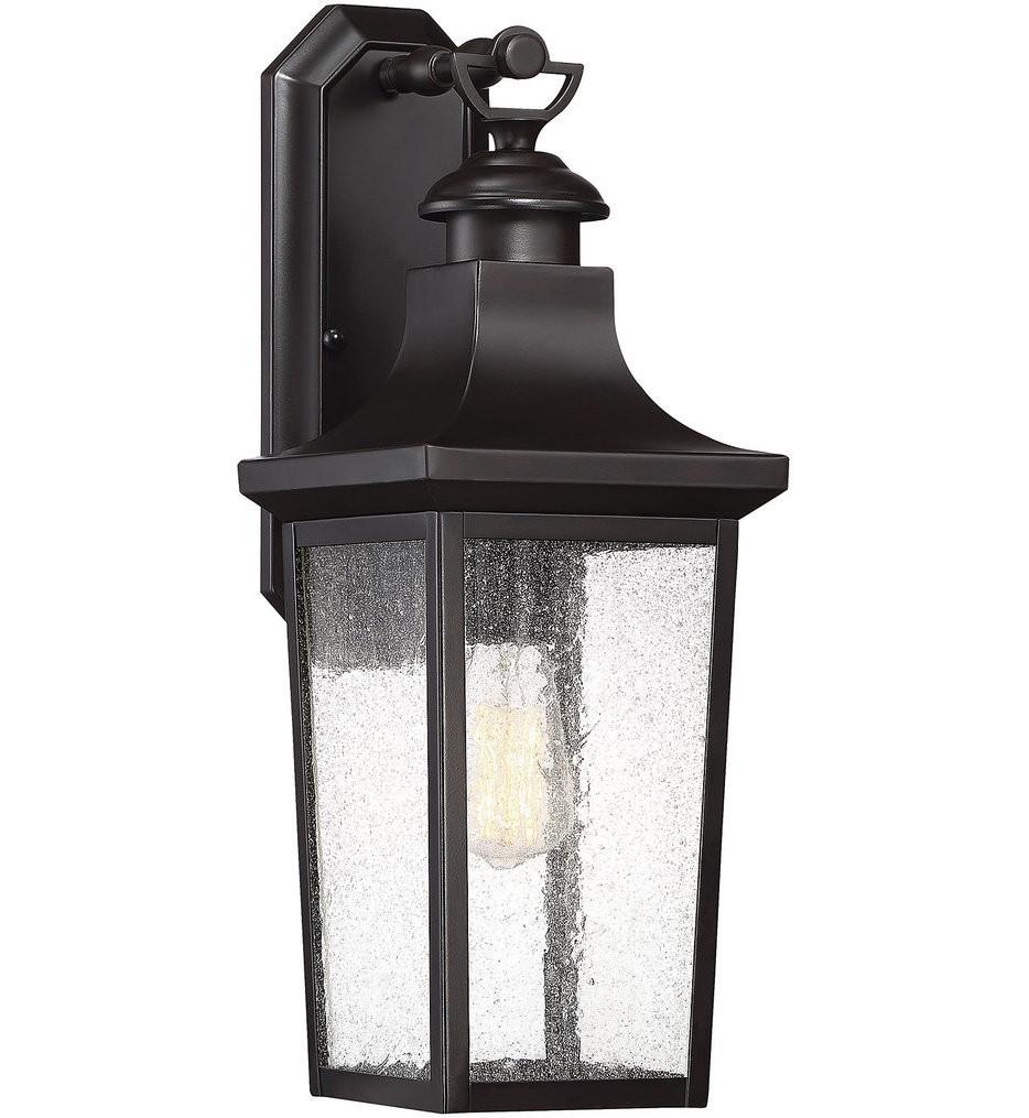 Savoy House - 5-615-13 - Randolph English Bronze 1 Light Outdoor Wall Lantern