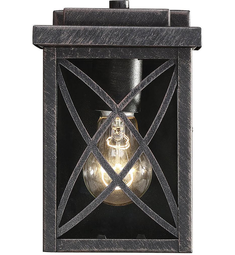 Savoy House - 5-700-113 - Norwalk Brushed Bronze 15 Inch Outdoor Wall Lantern