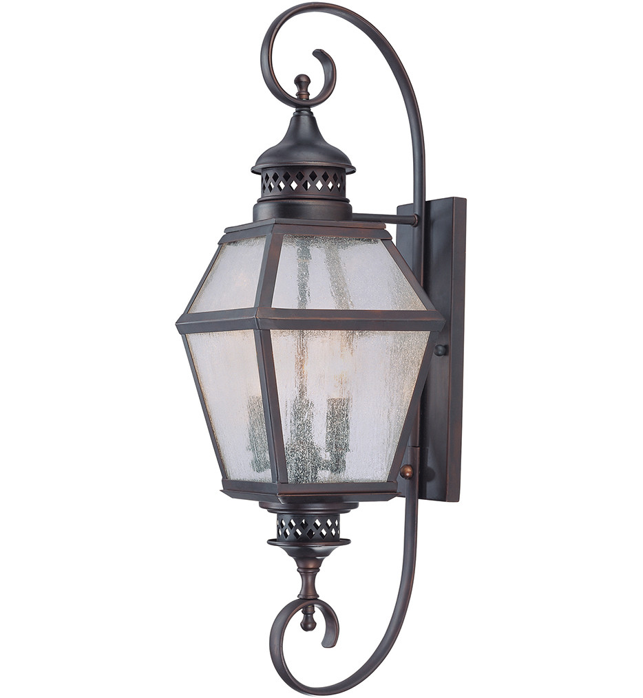 Savoy House - 5-773-13 - Chiminea English Bronze 27.5 Inch Outdoor Sconce