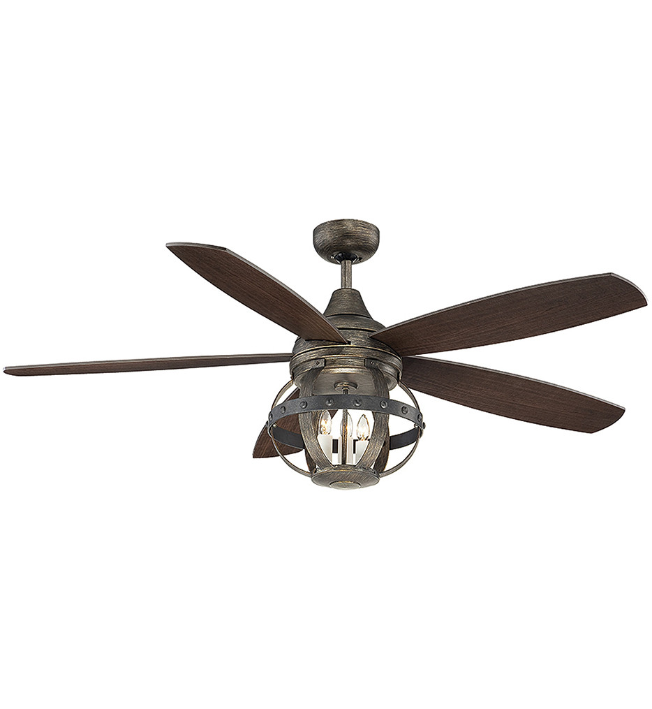 Savoy House - 52-840-5CN-196 - Alsace Reclaimed Wood 52 Inch Ceiling Fan With Chestnut Blades