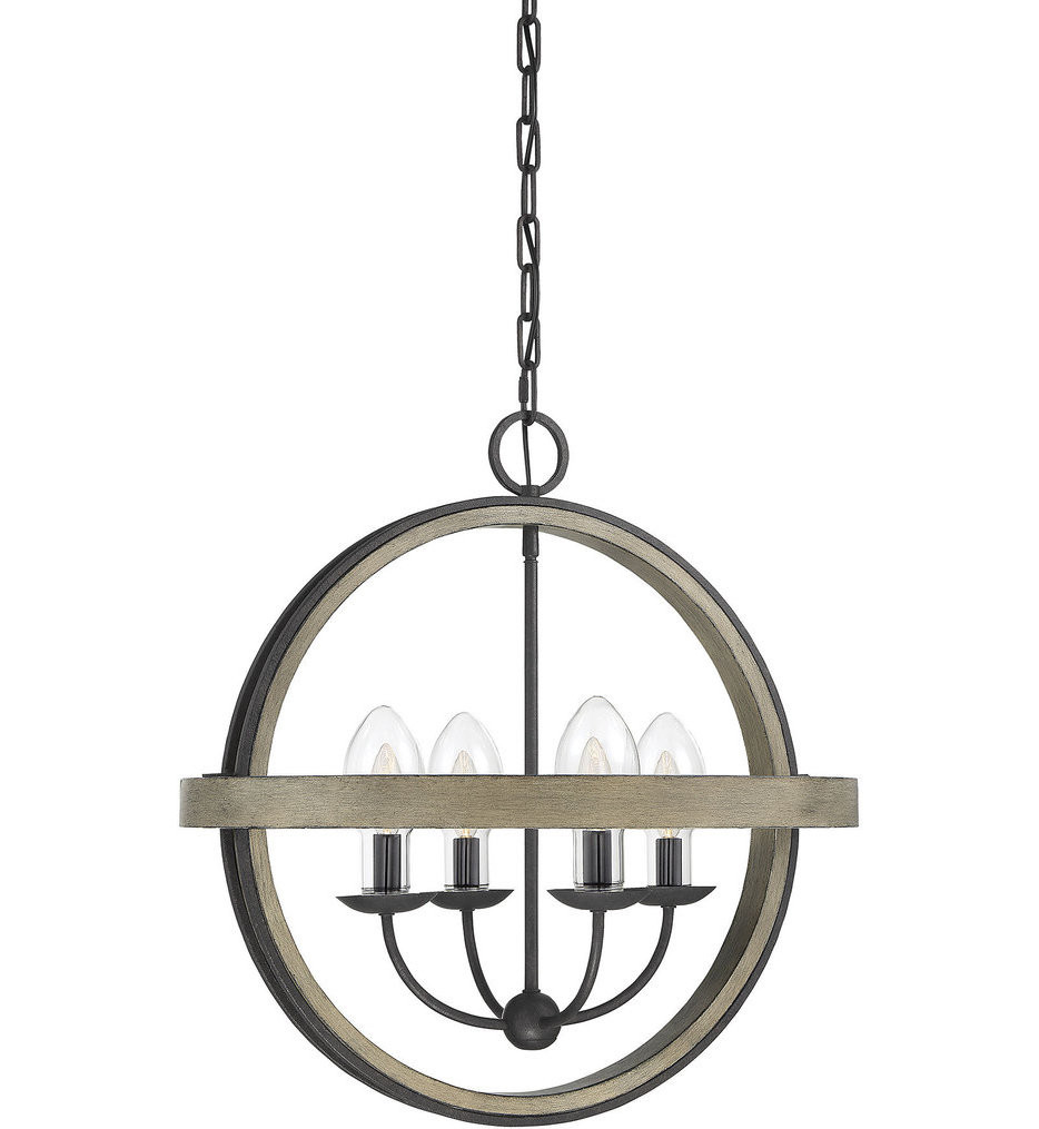 Savoy House - 7-0200-4-70 - Westport Weathervane 4 Light Outdoor Chandelier