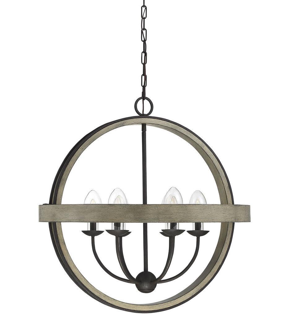 Savoy House - 7-0202-6-70 - Westport Weathervane 6 Light Outdoor Chandelier