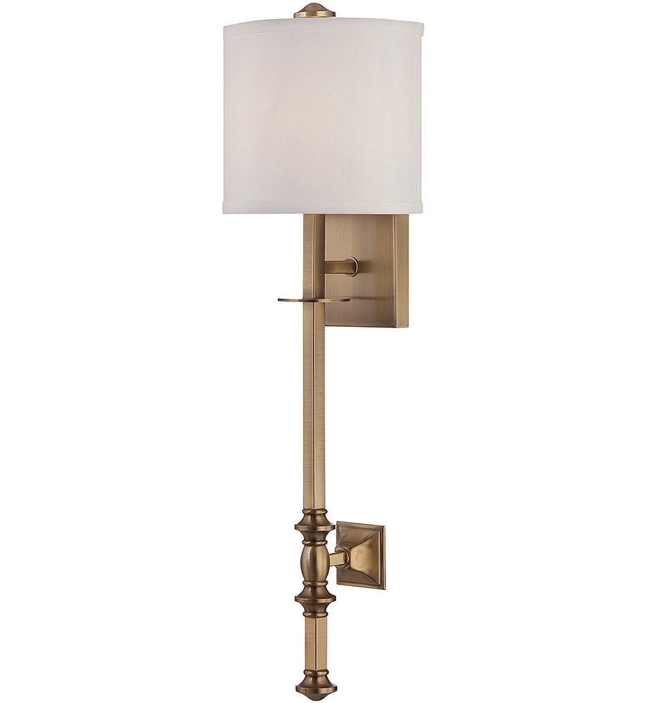 Savoy House - 9-7140-1-322 - Devon Warm Brass 7.5 Inch Wall Sconce