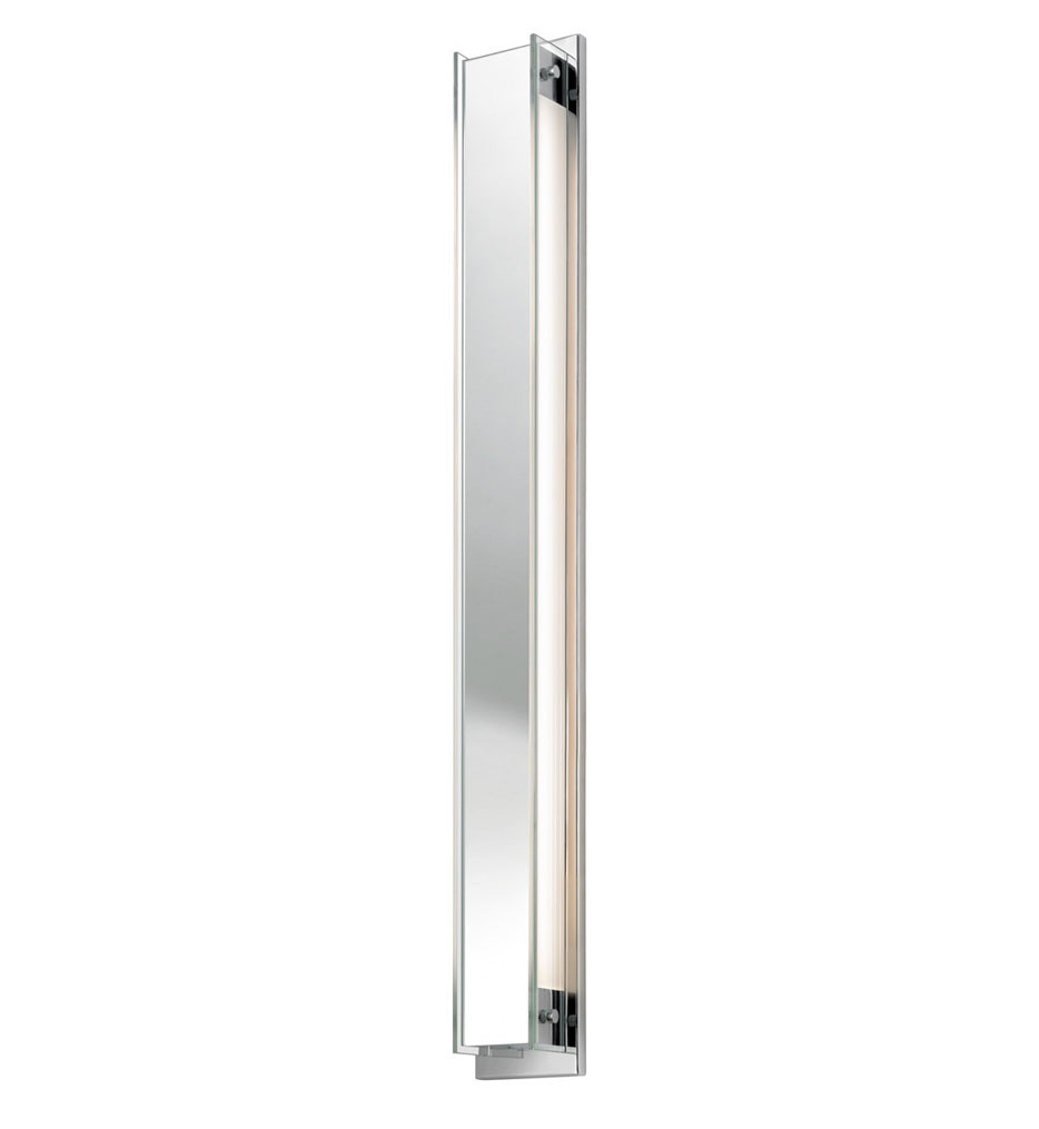 Sonneman 3013.01 Polished Chrome Accanto 40 Inch 2 Light Sconce