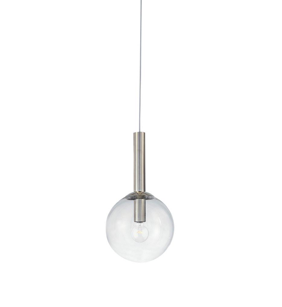 Sonneman 3761.35 Polished Nickel Bubbles 10 Inch 1 Light Pendant