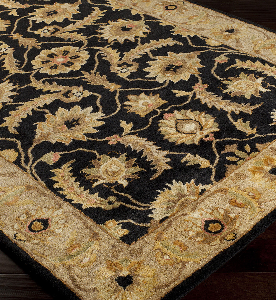 Surya - Ancient Treasures Gold Border Hand Tufted Rug