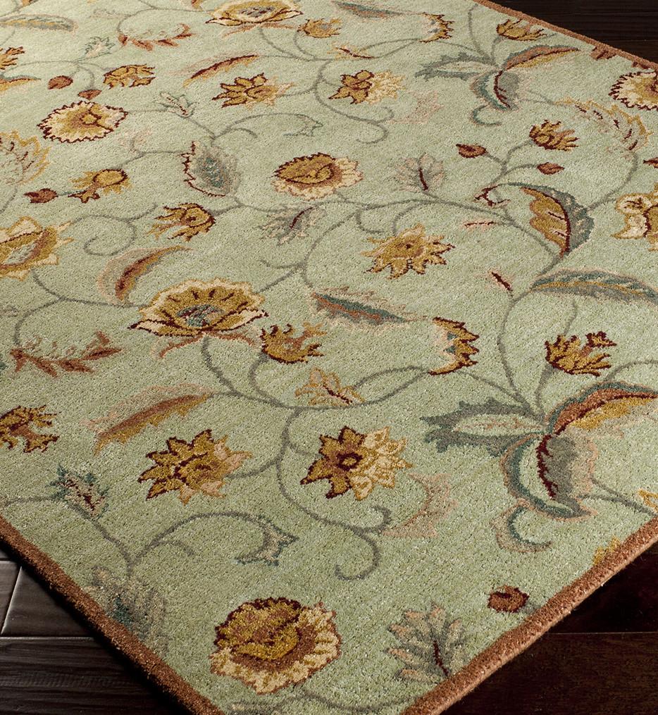 Surya - Ancient Treasures Floral Vines Hand Tufted Rug