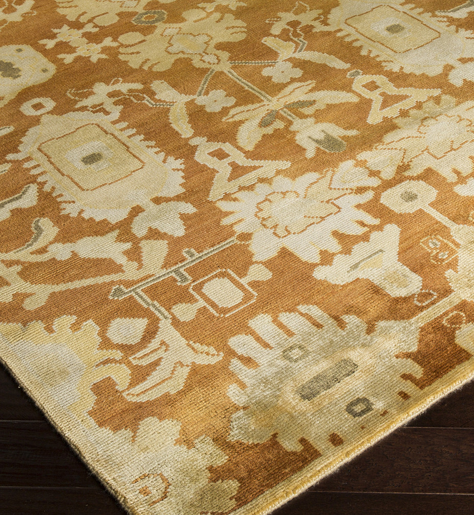 Surya - Ainsley Traditional Rust Hand Knotted Rug