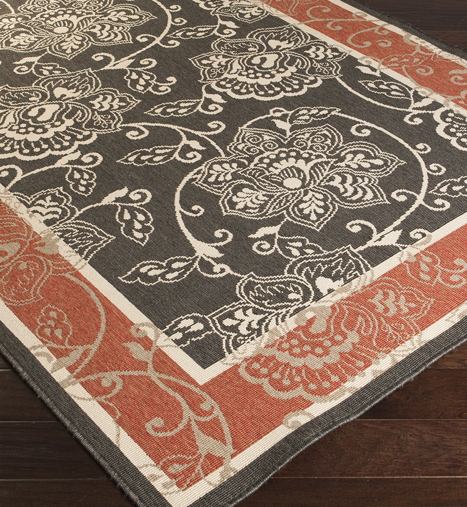 Surya - Alfresco Contrast Border Rug