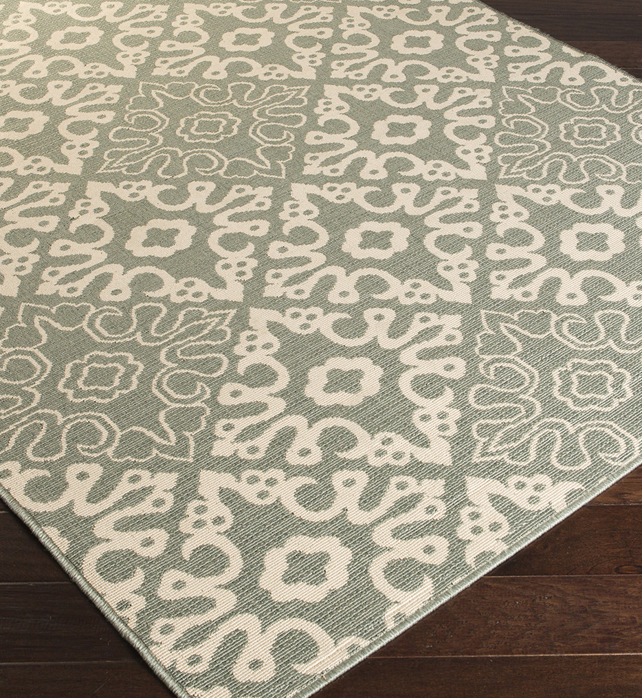 Surya - Alfresco Geometric Damask Rug