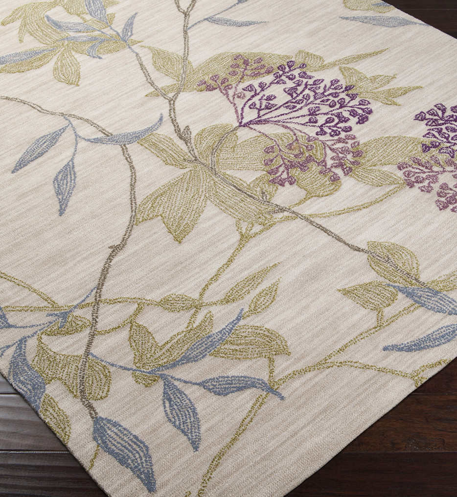 Surya - Ameila Vines And Flowers Hand Tufted Rug