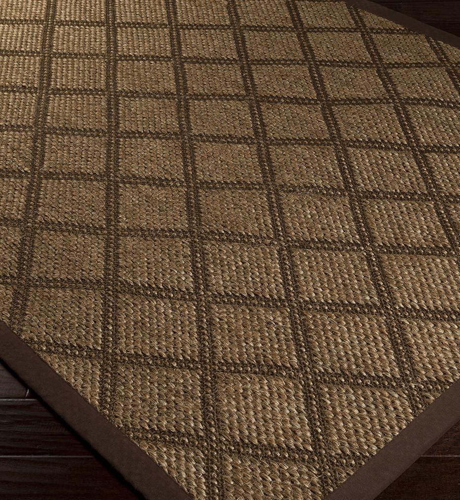 Surya - Argyle Natural Fiber Textures Hand Woven Rug